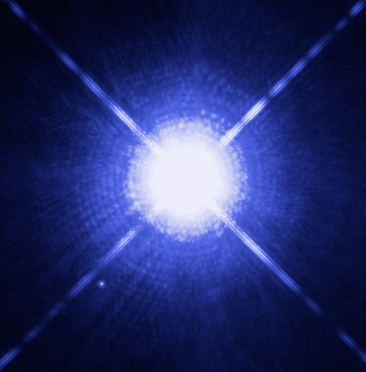 Sirius from NASA
